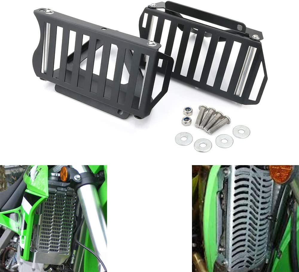 Xitomer KLX250 Aluminum Radiator Special Max 64% OFF Campaign KAWASAKI for Guards Fit
