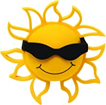 Coolballs Cool California Sunshine Car Antenna Topper / Mirror Dangler / Desktop Spring Stand / Auto Accessory (Black)