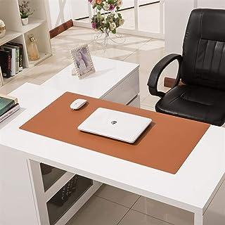 大型レザーゲーミングマウスパッド、拡張オフィスライティングマット、デュアルユースノンスリップ防水キーボードパッドコンピュータデスクプロテクターマット 120x60cm(47x24inch)