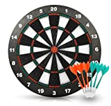 ActionDart Soft Tip Darts and Dart Board Set