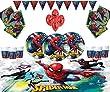 Marvel Spiderman Party Supplies Kinder Geburtstag
