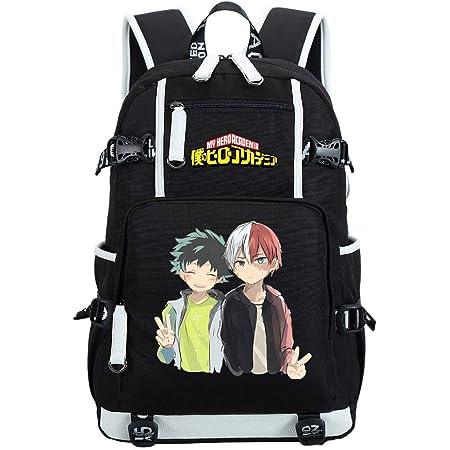 Anime My Hero Academia Cosplay Daypack Backpack Bookbag Laptop School Student Shoulder Bag for Women Men 11.4x6.3x16.5 04