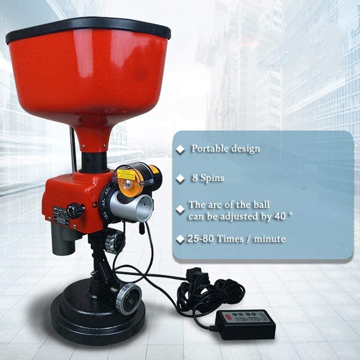 KDKDA Haga Doble Extremo Ping Pong con máquina de Bolas de Ping Pong Mesa automática Máquina for la Formación de Ping-Pong Robot Máquina con el Controlador de la Bola del Arco Lanzador/Lanzador/ti