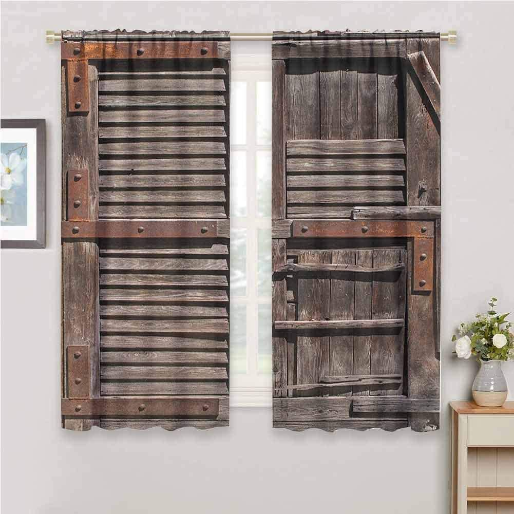 Arctic Residents Las Vegas Mall Rustic Black Out Vintage shopping Bedroom W for Curtains