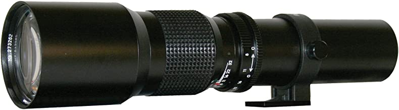 Rokinon 500P 500mm F/8 Preset Telephoto Lens (Black)