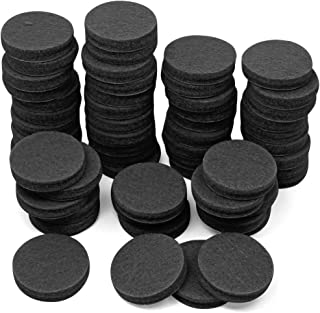 60 Pcs Furniture Pads, DanziX 1 inch Non Slip Felt Floor Protector Chair Leg Pads for Hardwood Floors Hard Surfaces, with ...