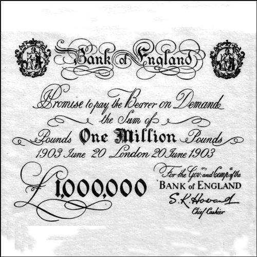 Die Millionen Pfund Note Titelbild