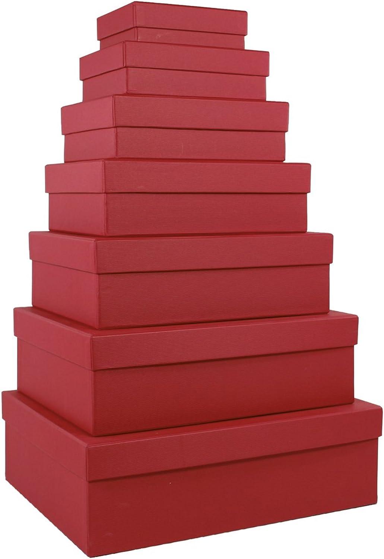 Rössler Rössler Rössler Papier - - S.O.H.O. Rot - 7er Kartonage, rechteckig B07CX9KPMY  | Verschiedene Waren  952061