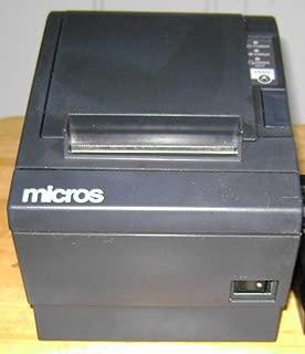 W W 57.5/±0.5 x 83mm , 55-80 /µm, Al/ámbrico, USB x 83mm 042 - Terminal de punto de venta Epson TM-T88V Gris PS, EDG, EU, T/érmico, 300 lps, 79.5/±0.5