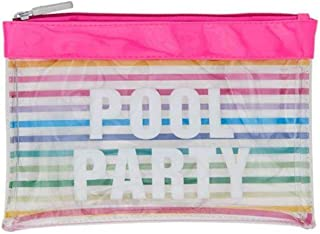 MIAMICA Rainbow Pool Party Beach Lotion Pouch
