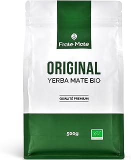 Frate Maté Original Yerba Mate Bio 500gr Qualité supérieure 🌿 Yerba maté riche en Vitamines et Antioxydants 🌿100 % Agric...