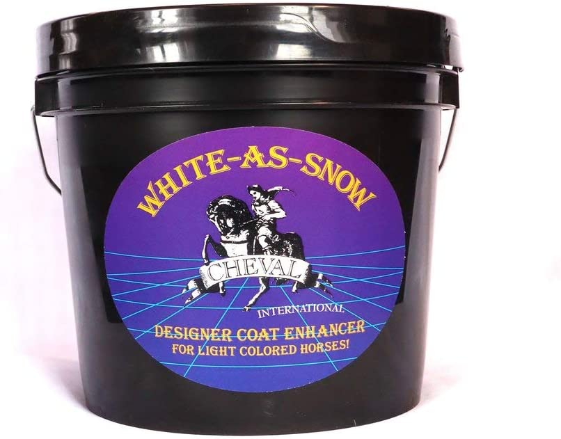 Selling and selling White-As-Snow Horse Coat Enhancing For Colored Max 76% OFF Supplement Light
