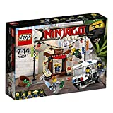 LEGO- Ninjago Inseguimento a, Multicolore, 70607