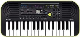 Casio 卡西欧迷你键盘迷你键盘 SA 46樱花乐器原创套装  32ミニ鍵盤 ブラック&グリーン