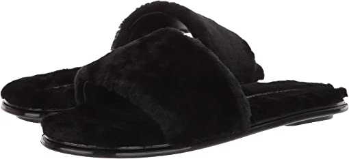 Black Cashmere Shearling
