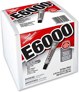 E6000 230450 Craft Adhesive, 0.18 fl oz,  50 Piece Box