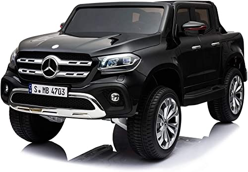 comprar descuentos Toyscar Coche Coche Coche Máquina eléctrica para Niños Jeep SUV Mercedes X-Class 12V Mando a Distancia 4X 4Motores Asiento de Piel 4Marchas Full Opcional  marcas de diseñadores baratos