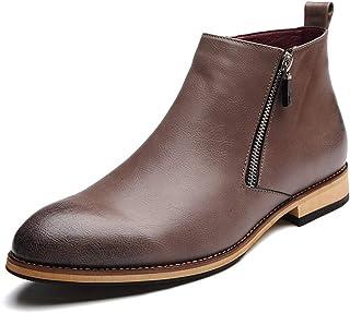 popular CHENJUAN Zapatos Botines de de de Moda para Hombre Casual Clásico Cremallera Lateral Zapatos Altos y cómodos para el Ocio  El ultimo 2018