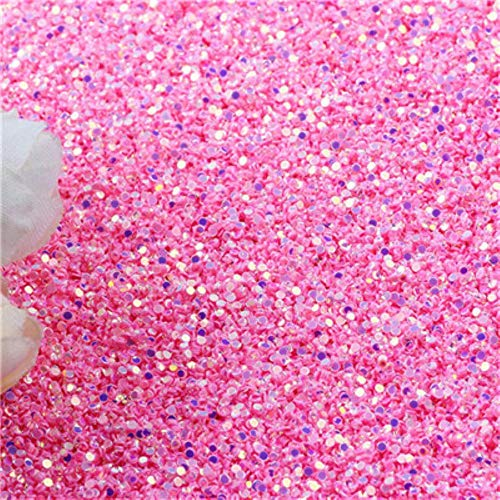Paillette 1mm Glitter Ronde Dot Sequin voor Crafts Nagel Pailletten Diy Nail Art Sieraden Accessoires Woondecoratie Manicure 20g, ab roze goud, 1mm 20g