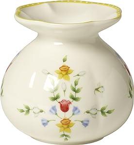 "Villeroy & Boch Spring Awakening Vase ""Blüten"", 10,5 cm, Porzellan, Weiß/Bunt"