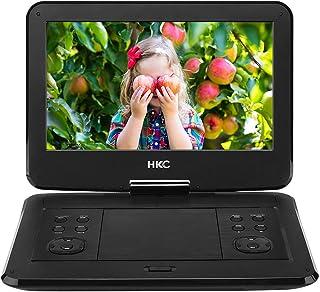 HKC D13HM 33,78 cm (13.3 Pouces) Lecteur DVD Portable, écran pivotant, Carte SD, Port..