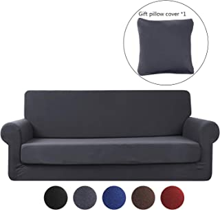 Best ultimate heavyweight stretch suede four piece sofa slipcover Reviews