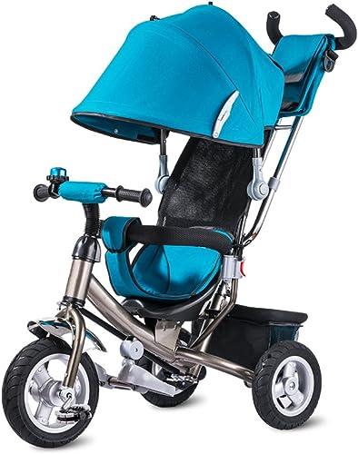 Venta en línea de descuento de fábrica Bicicleta para Niños, Triciclo para Niños Niños Niños Bicicleta Carro para bebés Titanium Rueda vacía Carro para bebés Doble freno  precios bajos