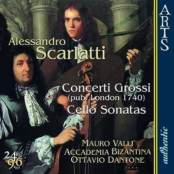 Scarlatti: Concerti Grossi / Cello Sonatas