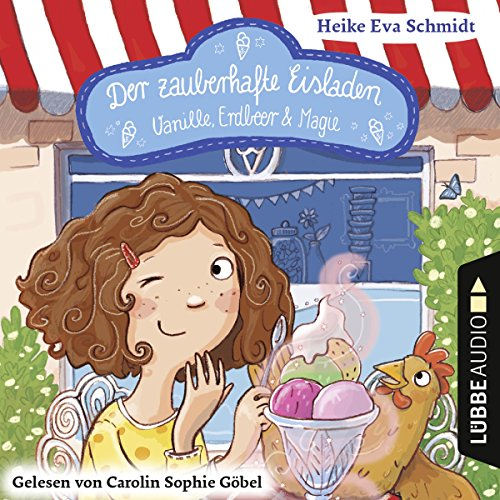 Page de couverture de Vanille, Erdbeer und Magie