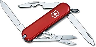 Victorinox Swiss Army Multi-Tool, Rambler Pocket Knife, Red
