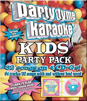 Party Tyme Karaoke - Kids Party Pack  32+32-song Party Pack  [4 CD]
