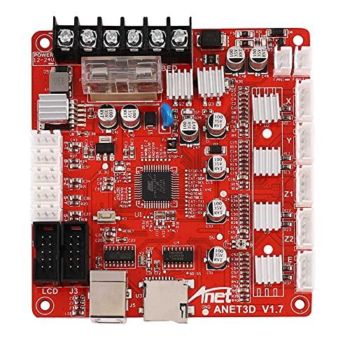 Wobekuy V1.7 Placa base de control para Anet A8 DIY Desktop Impresora 3D