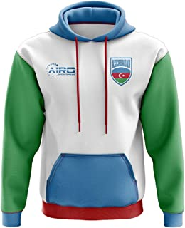 Airo Sportswear Azerbaijan Concept Country Football Hoody (White)