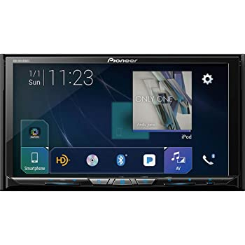 "Pioneer AVH-W4400NEX In Dash Multimedia Receiver with 7"" WVGA Clear Resistive Touchscreen Display"