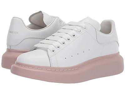 Alexander McQueen Oversized Sneaker (White/Patchouli 161) Women