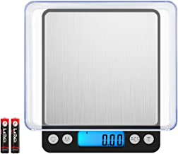 (New Version) Digital Food Kitchen Scale, 1.1lbs 500g Max, Highly Accurate Multifunction Food Scale, Electronic Smart Scale (Battery Included)