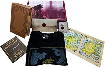 Game of Thrones 20th Anniversary Collectible Gift Box w/Book   Small Shirt Black