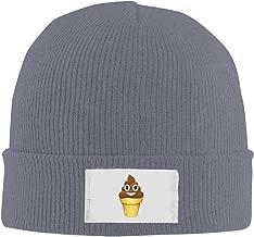 Winter Ice Cream Emoji Poop Emoticon Chocolate Beanie Hats