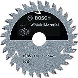 Bosch Professional Lama per sega circolare Standard (for MultiMaterial, 85 x 15 x 1.5 mm, 30 denti, accessorio per sega circolare a batteria)
