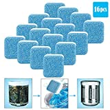 Washing Machine Cleaner, Washer Machine Cleaner Effervescent Tablets, Deep Cleaning Tablets for All Machines, 16 Count