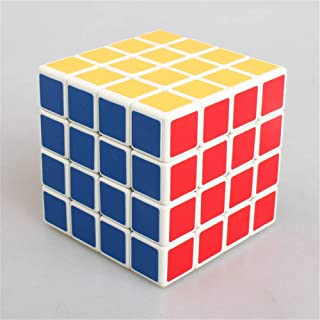 Speed Cube 4x4x4 Smooth Magic Cube Puzzles with New Anti-pop Structure Smooth Magic Cube Brain Training Game Decompression...