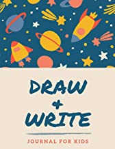 Draw and Write Journal for Kids: Blank Top Half of Page for Illustrations and Lined Bottom Half of Page for Writing - Creative Writing Notebook, Storybook, Short Story Authors
