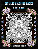 Detailed Coloring Books For Kids: Animals Advanced Coloring Books   Whispers of Nature Advanced...