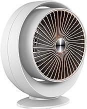 Mini Calentador Calefactor Ventilador - 800W, Tranquilo Sin Luz, Protección contra Sobrecalentamiento, Volcado Apagado para Badroom Baño Oficina