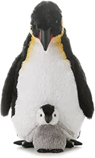 Aurora World Emperor Penguin With Baby, 12-Inches