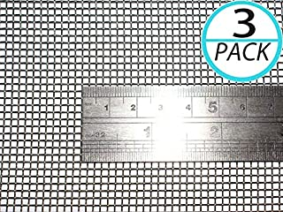 (Pack of 3) Woven Wire 10 Mesh 12
