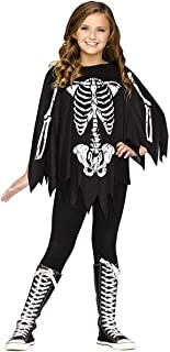 Best skeleton poncho girl Reviews