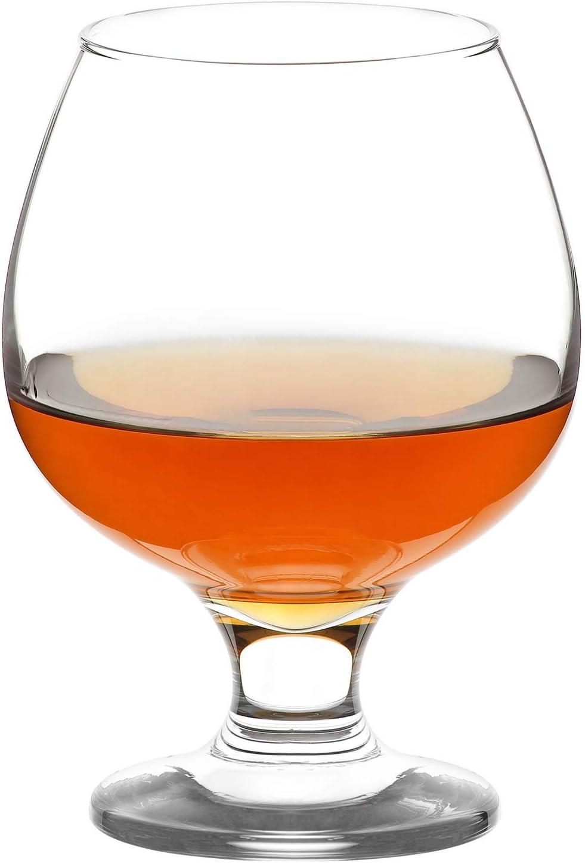 LAV Brandy Snifters Regular store Set of 6 - Oz Cognac B Glasses 13.25 Max 69% OFF Clear