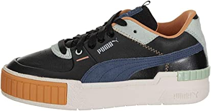 PUMA Womens Cali Sport Mix Lace Up Sneakers Shoes Casual - Black