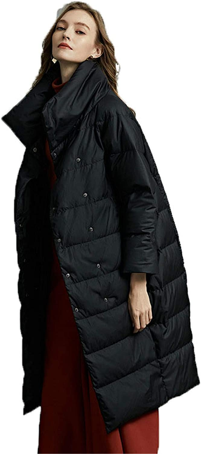 Stand Collar Puffer Parka Women's White Excellence Sales results No. 1 Lightweight Coat Padded